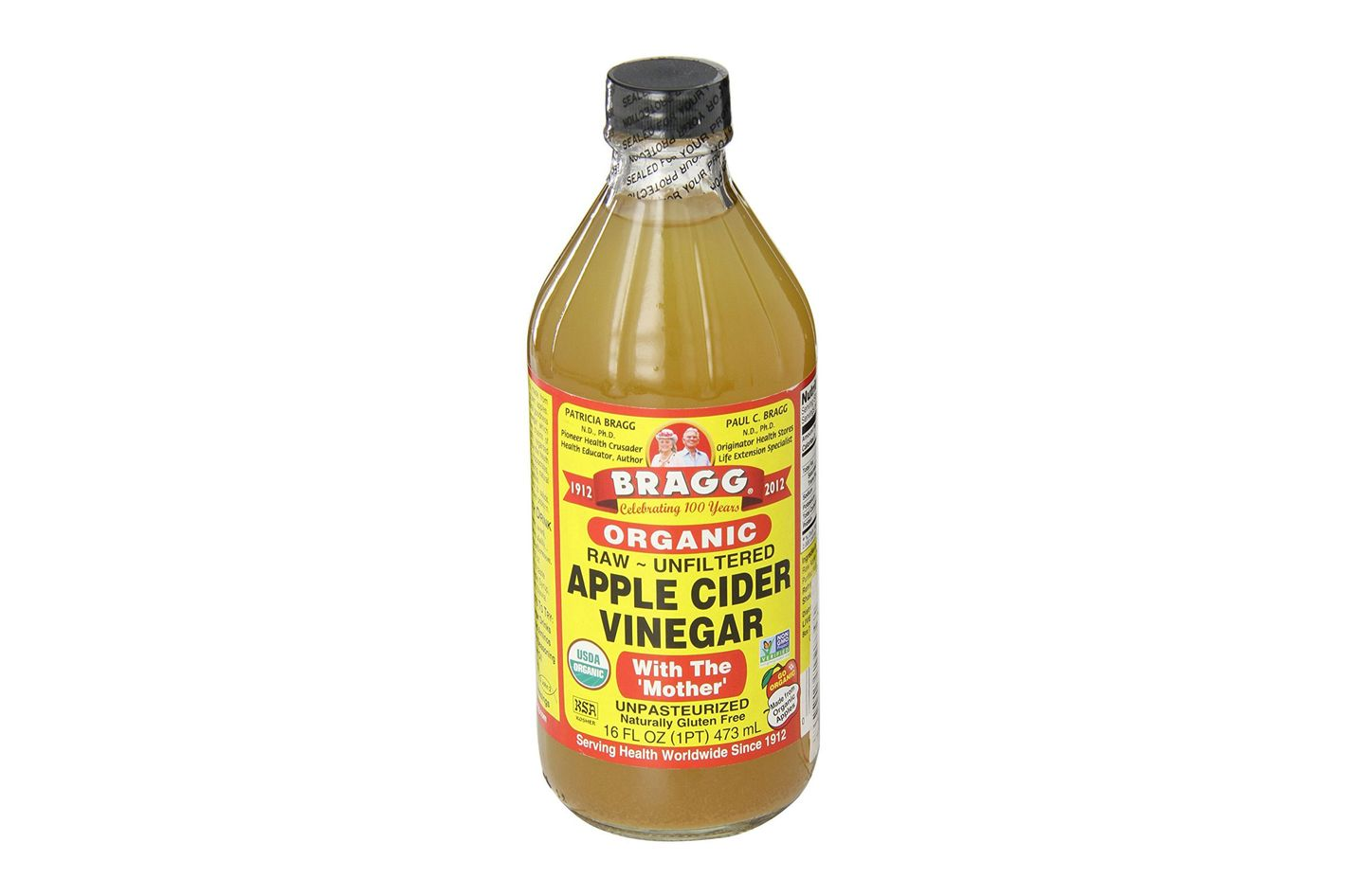 Bragg USDA Gluten Free Organic Raw Apple Cider Vinegar