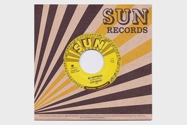 "Elvis Presley ""My Happiness"" 7"" record"