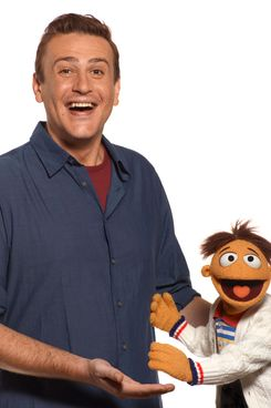 """THE MUPPETS""  (L-R) Jason Segel, Walter"