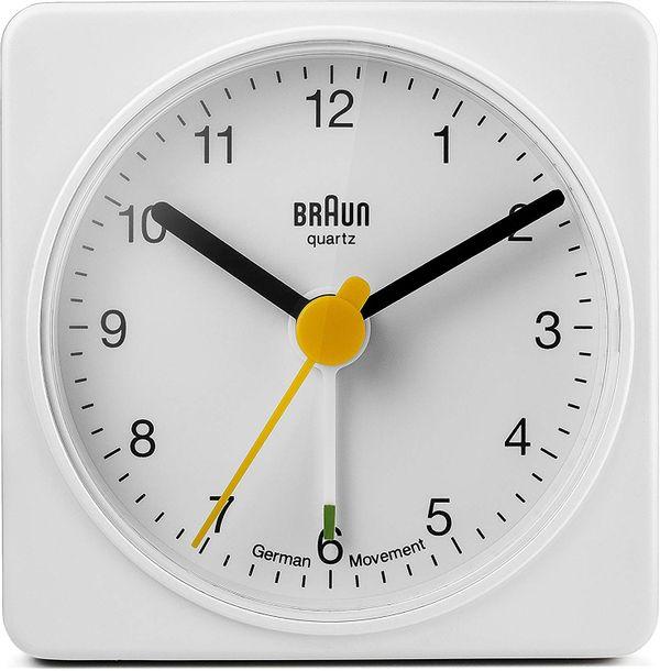 Braun Classic BNC002 Clock in White