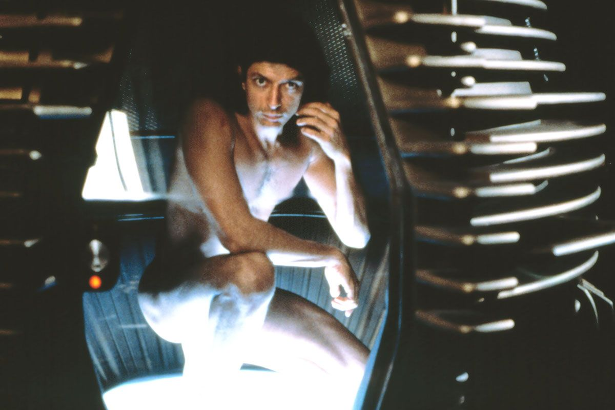 "<em><span class=""clay-designed kiln-phrase"">The Fly</span></em><span class=""clay-designed kiln-phrase"">, directed by David Cronenberg.</span> The teleportation device that melds Jeff Goldblum disgustingly with a fly in Cronenberg's 1986 film inspired Lindelof's idea of the LADR device—but also served as a cautionary example of the pitfalls of the sci-fi genre."