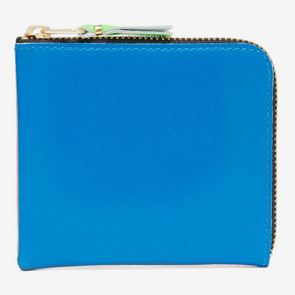 Comme des Garçons Zip-Around Bi-Colour Leather Wallet