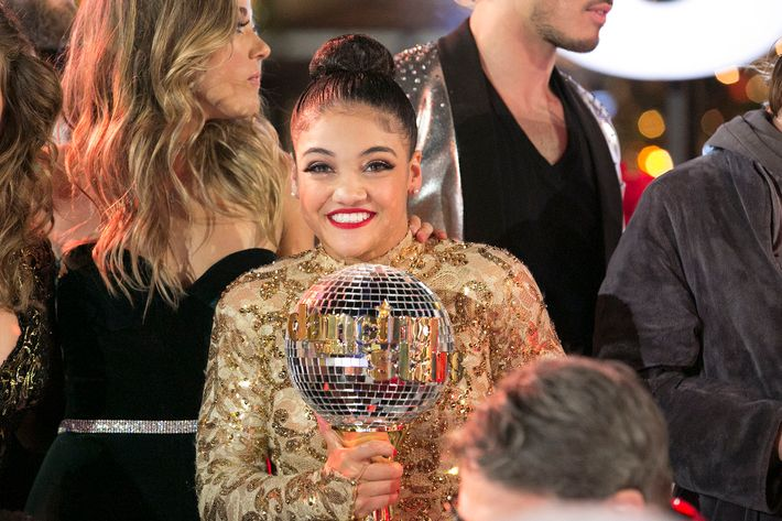 Image result for Laurie Hernandez wins 'Dancing with the Stars'