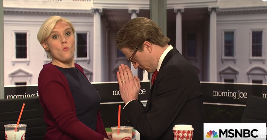 Mika And Joe Wedding.Morning Joe Was A Sexual Disaster On Saturday Night Live