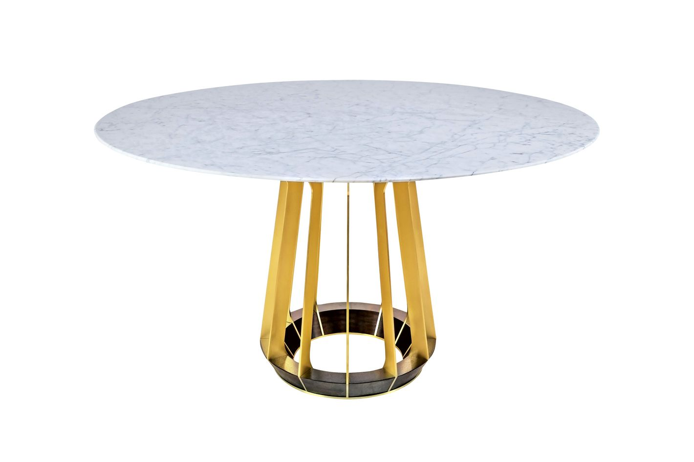 """""""Sophia"""" round foyer table by Hellman-Chang"""