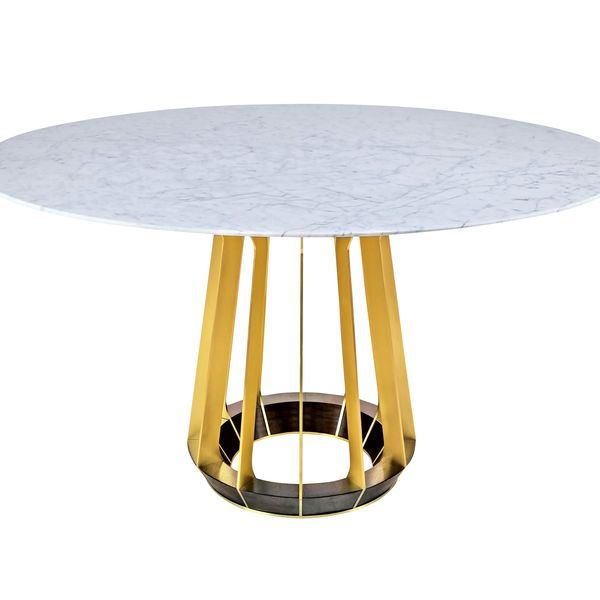 """Sophia"" round foyer table by Hellman-Chang"