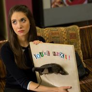 "COMMUNITY -- ""Introduction to Teaching"" Episode 502 -- Pictured: Alison Brie as Annie -- (Photo by: Justin Lubin/NBC)"