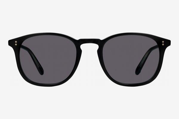 Garrett Leight Kinney Sunglasses in Matte Black
