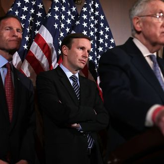 Senate Prepares To Vote On Gun Control Amendments