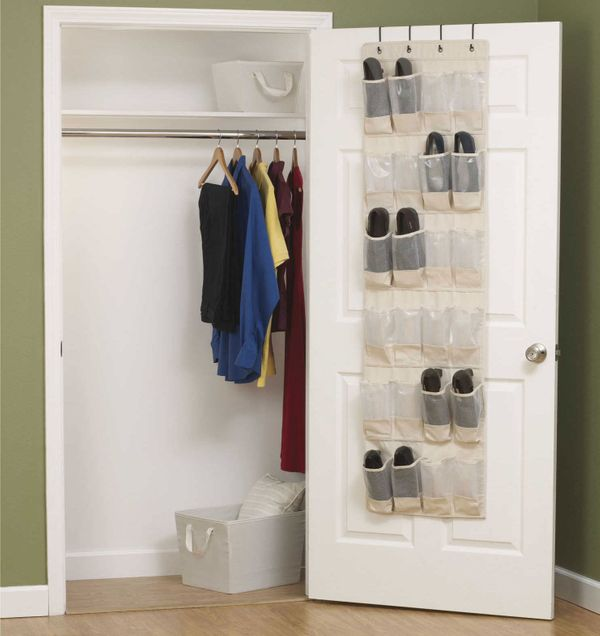 Household Essentials Cedarline Collection Over-the-Door Shoe Organizer
