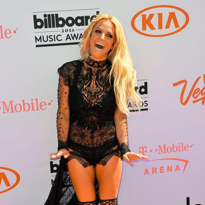 Britney Spears, queen of summer. Photo: Allen Berezovsky/Getty Images