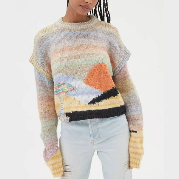 UO Ventura Landscape Sweater