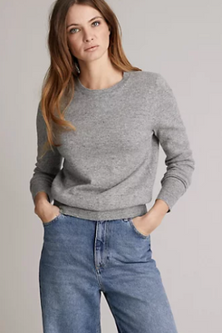 Marks and Spencer Pure Cashmere Textured Jumper