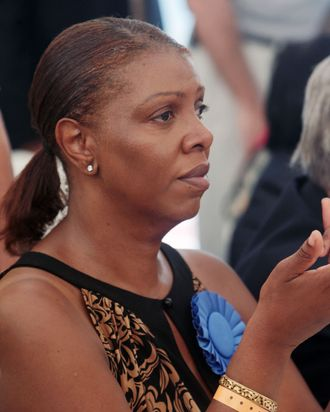 5 September 2011- New York, NY- NYC Councilwoman Letitia James at the 44th Annual West Indian Day Carnival held on Eastern Parkway and the Brooklyn Museum on September 5, 2011 in Brooklyn, New York. ? Terrence Jennings / Retna Ltd.