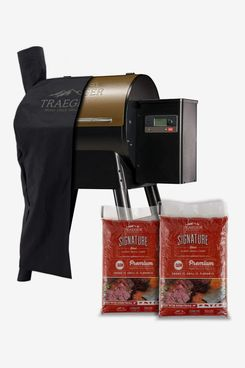 Traeger Grills Pro Series 575 Wood Pellet Grill and Smoker with Alexa and WiFIRE Smart Home Technology