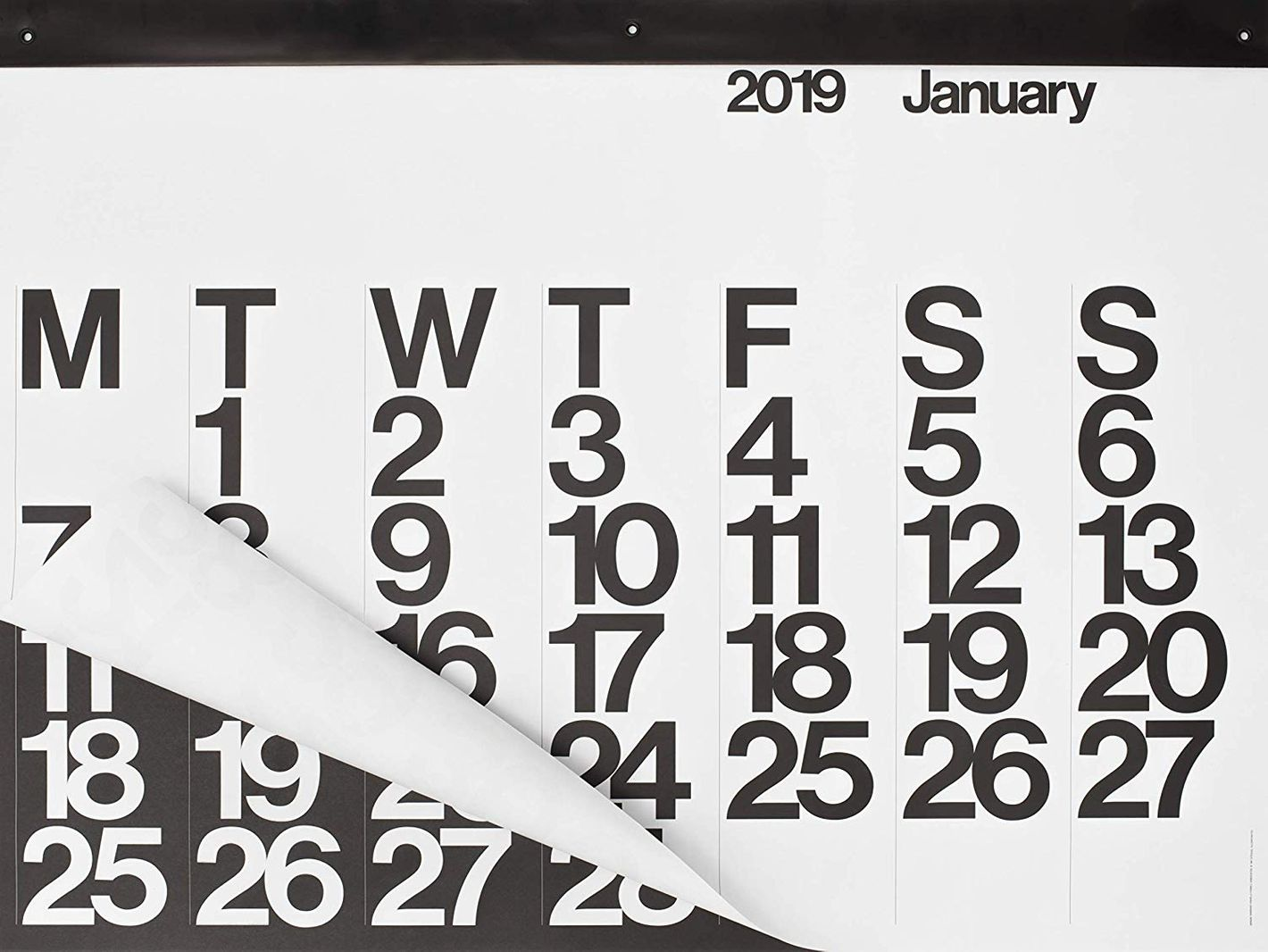 2019 Stendig Wall Calendar | Authentic Original Design of Massimo Vignelli