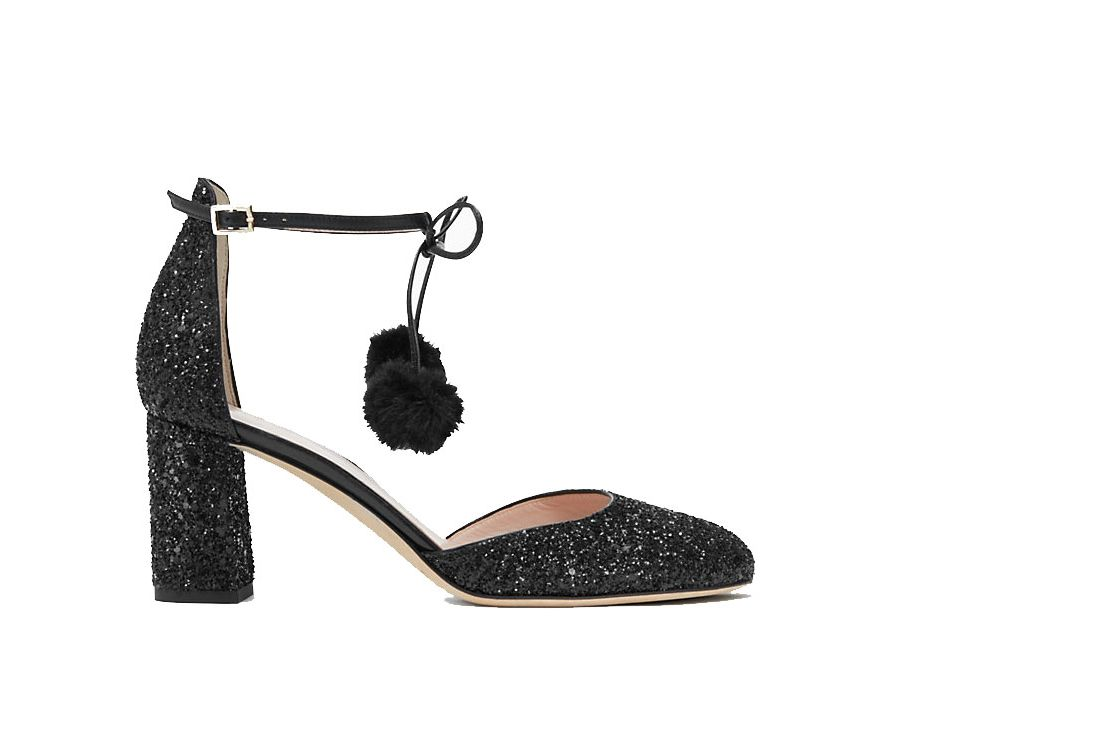 "Kate Spade New York ""Abigail"" Glitter Pumps"