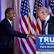 Presidential Candidate Donald Trump Holds Florida Press Conference