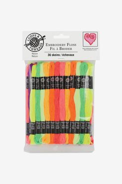 Neon Embroidery Floss By Loops & Threads