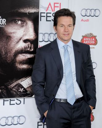 HOLLYWOOD, CA - NOVEMBER 12: Actor Mark Wahlberg arrives at the AFI FEST 2013 for the