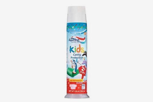 Aquafresh Kids Cavity Protection Bubble Mint (Pack of 2)