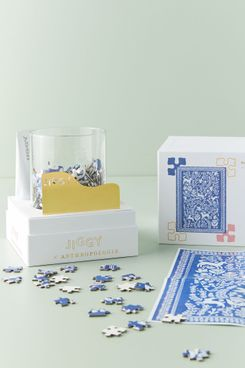 Jiggy for Anthropologie Puzzle and Glue Set (Forest Frolick)