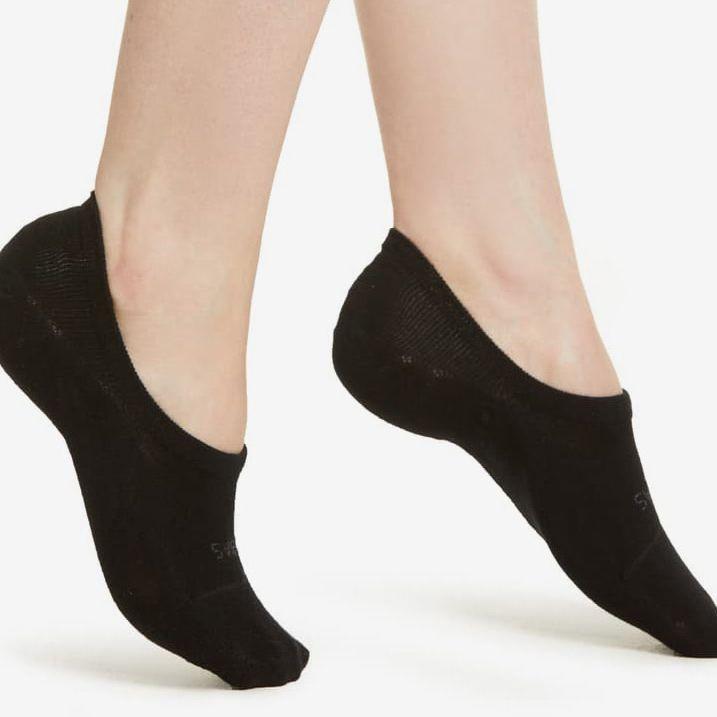 Nylon Ankle Socks Womens 20D Transparent Hosiery Socks 6 pairs