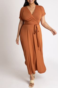 Eloquii Maxi Wrap Dress