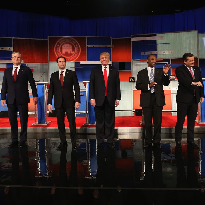 GOP Presidential Candidates Debate In Milwaukee