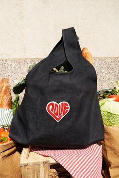 Watch Hunger Stop LOVE Denim Tote Bag