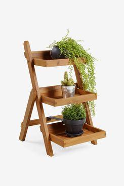 VonHaus 3 Tier Folding Plant Stand
