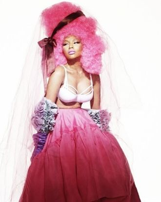 Nicki Minaj for <em>Allure</em>.