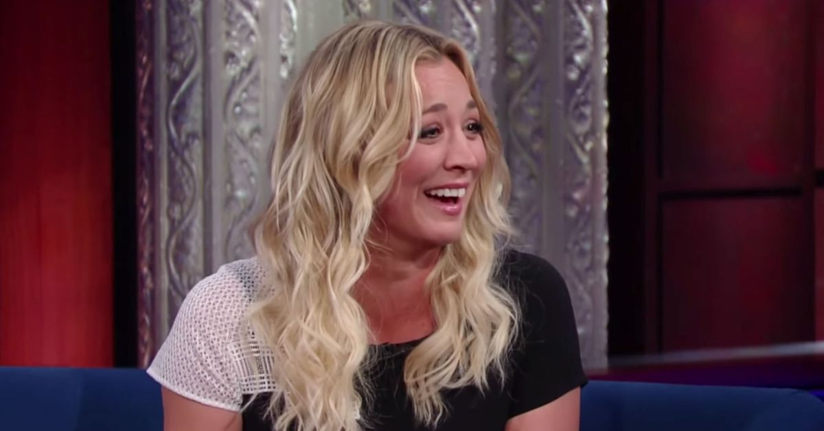 Kaley Cuoco Tears The Veil Away From Your Eyes To Reveal That The