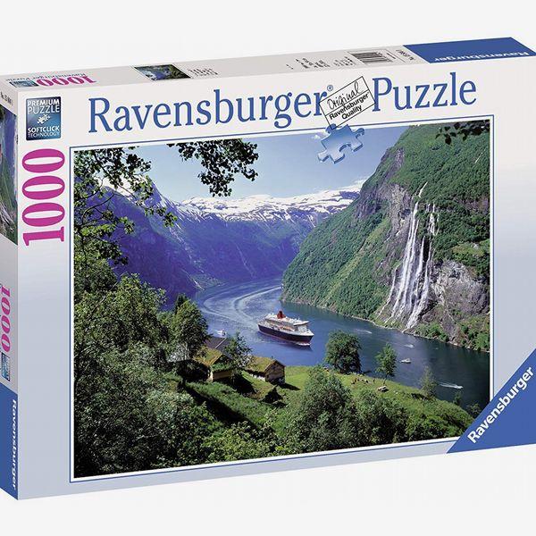 Ravensburger Norwegian Fjord 1000-pc. Jigsaw Puzzle