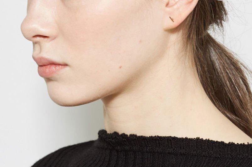 Kathleen Whitaker Rose Staple Earring