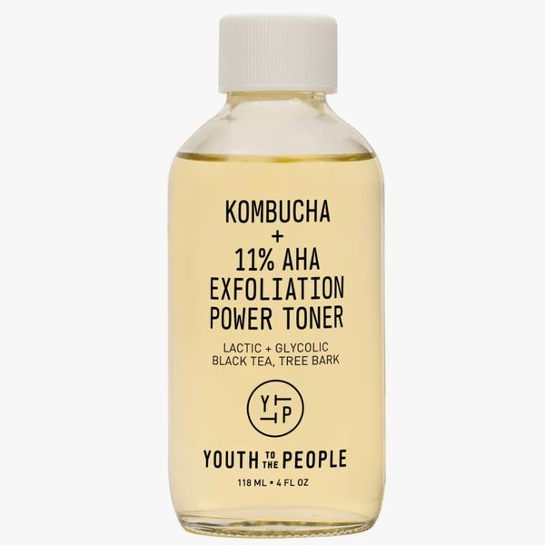 Youth to the People Kombucha + 11% AHA Exfoliation Power Toner With Lactic Acid