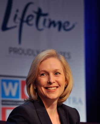Senator Kirsten Gillibrand attends Lifetime Television's 2012