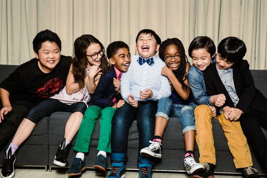 NEW YORK MAGAZINE; VULTURE.COM COMEDY KIDS ROUNDTABLE; Hudson Yang; Aubrey Anderson-Emmons; Miles Brown; Albert Tsai; Marsai Martin; Forrest Wheeler; Ian Chen