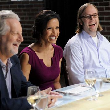 The judges are very amused.