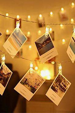 LED Photo Clips String Lights