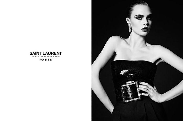 Cara Delevingne in the La Collection de Paris campaign.