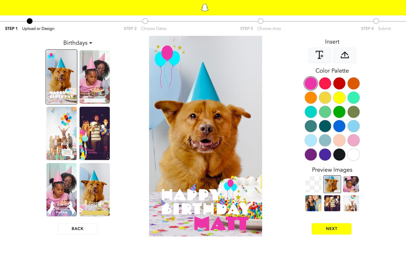 How to create snapchat geofilters for How to make a geofilter without photoshop