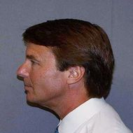 In this mug shot released by the U.S. Marshals Service June 15, 2011, Former U.S. Senator John Edwards (D-NC) is seen. Edwards plead not guilty June 3, 2011 to charges of using campaign funds to help hide a mistress and the baby he had with her.