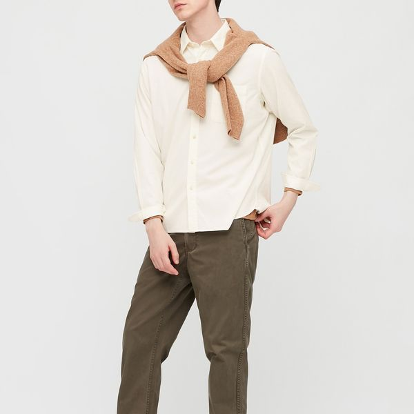 Uniqlo Men Corduroy Long-Sleeve Shirt