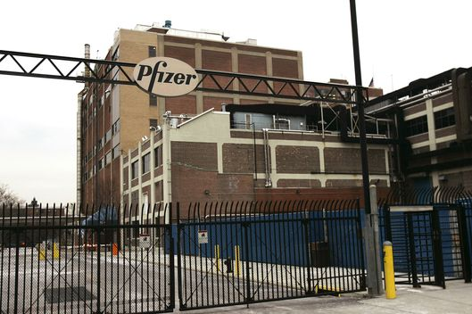 Pfizer's oldest production plant founded in 1849