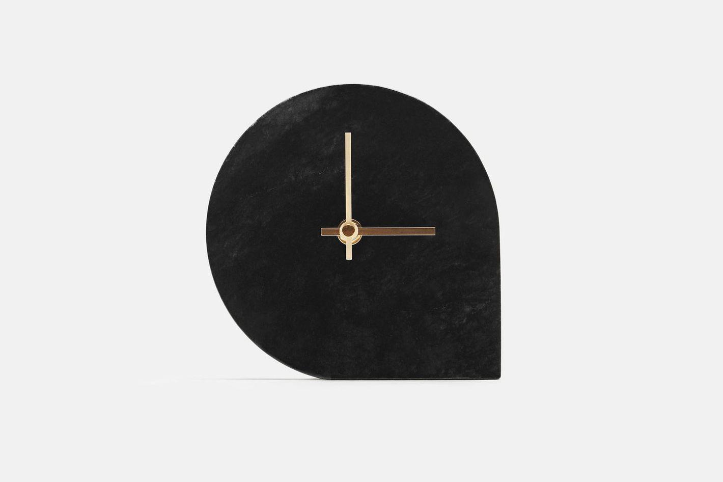 AYTM Marble Table Clock