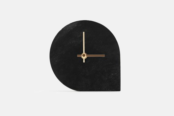 AYTM Marble Table Clock