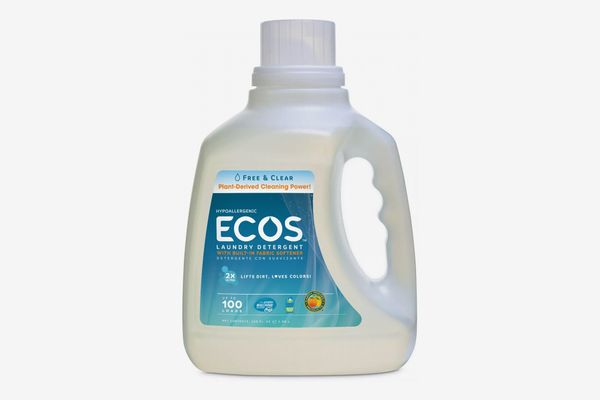 Ecos Free and Clear Laundry Detergent, 100 Ounces