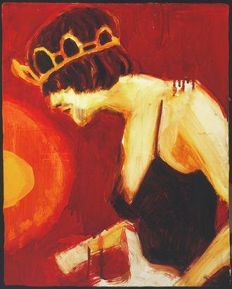 Elizabeth Peyton, <em>Princess Kurt</em>, 1995.