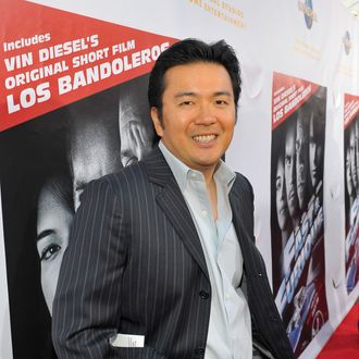 Director Justin Lin arrives at the premiere of Universal Studios Home Entertainment's